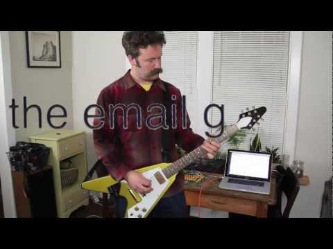 La guitarra Arduino que escribe e-mails