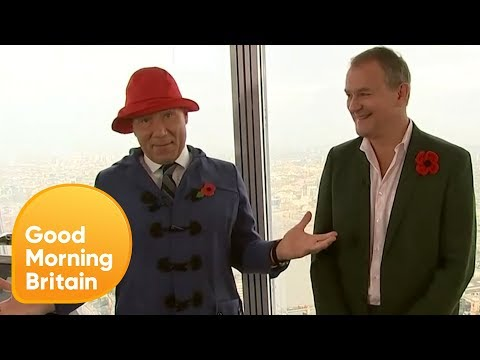 'Downton Abbey' Star Hugh Bonneville Talks 'Paddington 2' | Good Morning Britain