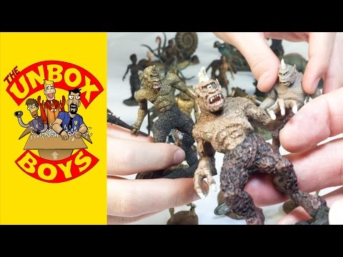 The Monsters of Ray Harryhausen