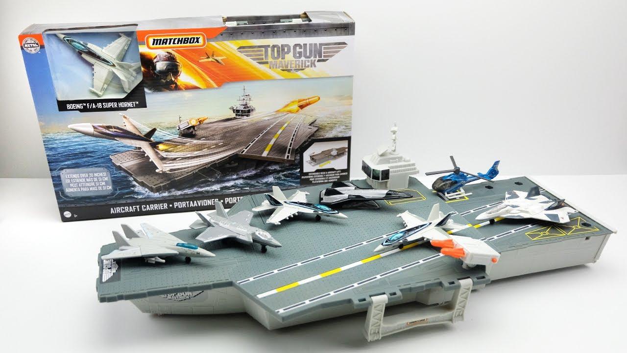 MATCHBOX TOP GUN MAVERICK FIGHTER JETS Sky Busters F//A-18 SUPER HORNET HERO
