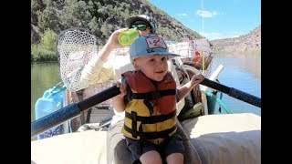 RAFTING WITH KIDS & MAYBE A LITTLE FLY FISHING