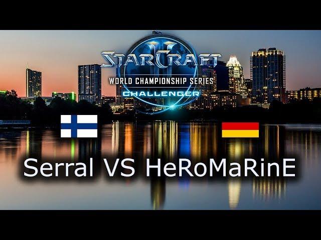 Serral VS HeRoMaRinE - Ro4 - ZvT - EU Qualifiers WCS Austin 2018 - polski komentarz