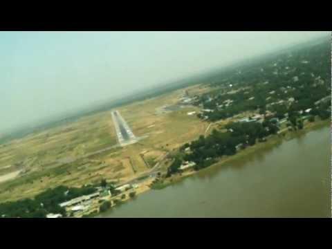 Arriving in N'Djamena