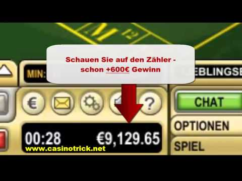Online Roulette Strategie - Roulette Strategie Erlaubt 2012