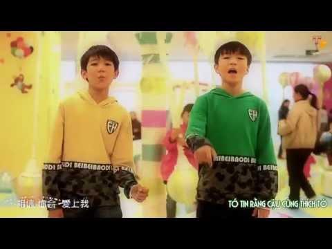 [vietsub] 青蛙也会变王子| Ếch Cũng Sẽ Thành Hoàng Tử || 王俊凯,王源||  KaiYuan Khải Nguyên- TF Boys