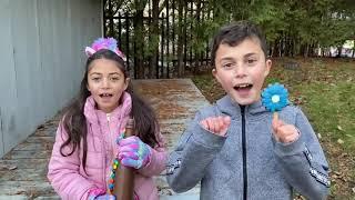 Hadil plays seller of sweet bottles