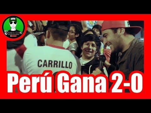 Perú va al mundial - Los peruanos predicen el triunfo de Perú vs Nuevazelanda 2 - 0