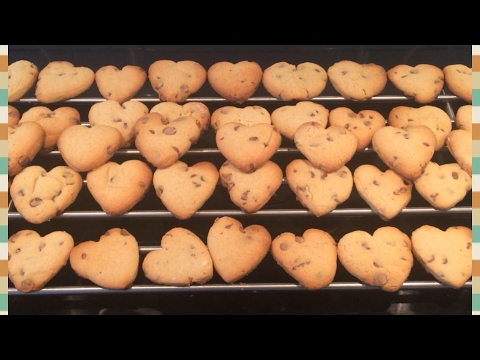 Chocolate Chip Cookies Recipe Valentines Hearts