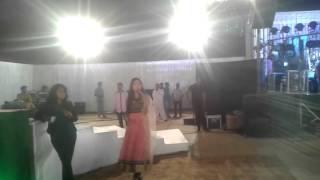 Anchor Sneha .... hosting a wedding entry