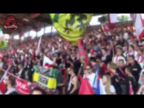 Rb Leipzig vs. Union Berlin - Away Support @ Stadion An der Alten Försterei (28.08.2015)