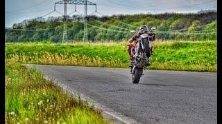 Jak po zadním -Návod  / How to Wheelie a Motorcycle / CZ / Část 1