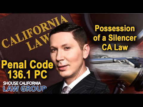 Are Silencers Legal in California? Penal Code 33410