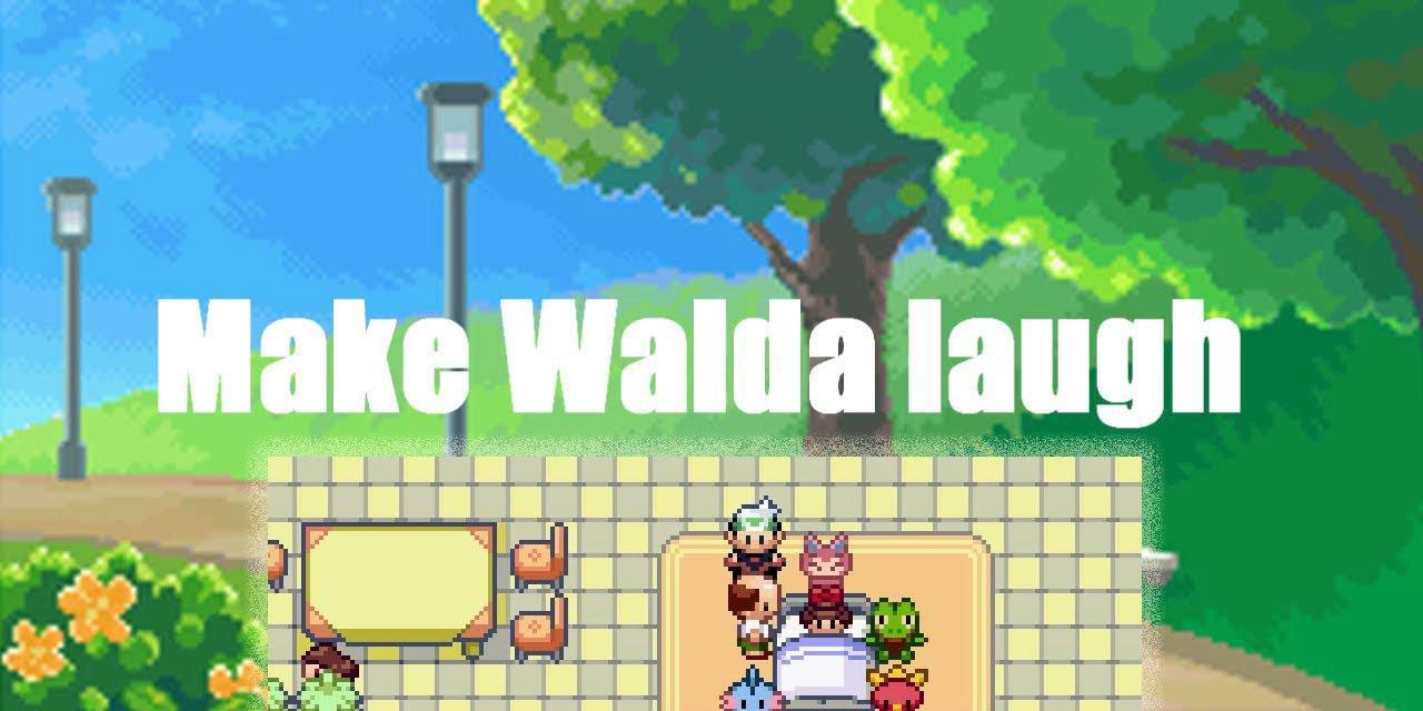 Pokemon Emerald Secret Word For Walda Youtube