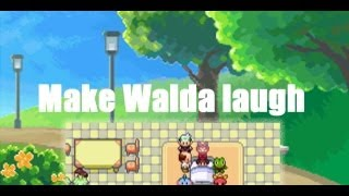 Oh, yes! She's laughing! (Pokémon Emerald) - Secret Word For Walda