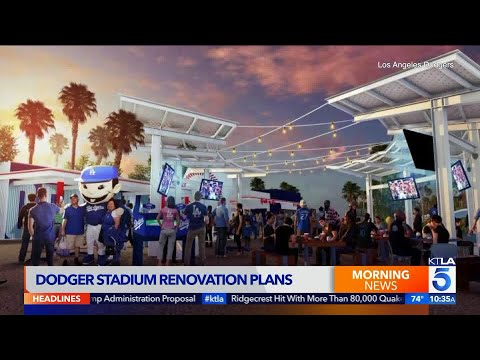 Dodger Stadium to Undergo Renovations