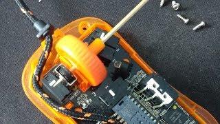 How to fix broken Steelseries mousewheel axle