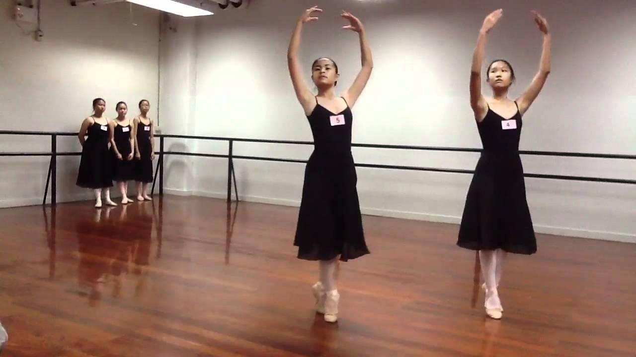 Minnie's grade 8 (ballet practice) - YouTube