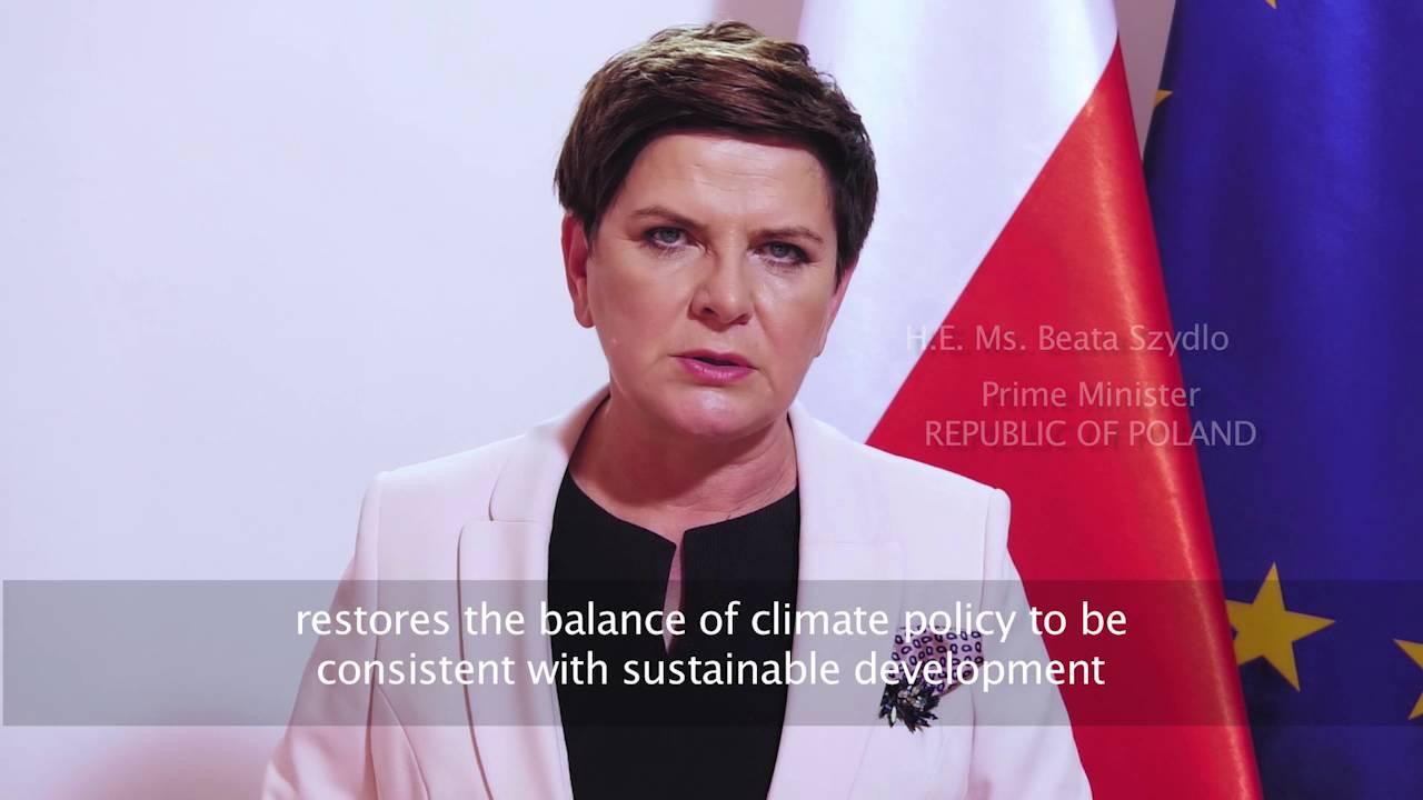 Poland: Statement 2016 UN Climate Change high-level event