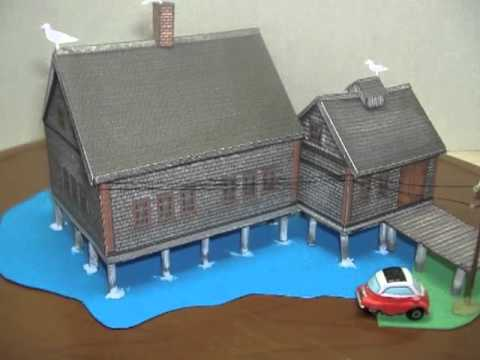 Lobster Cannery Downloadable Cardmodel