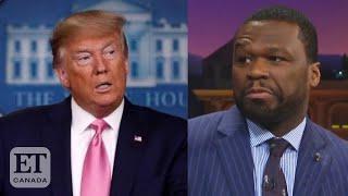 50 Cent Supports Trump After Biden's Tax Plan