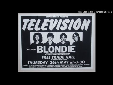 Television - Psychotic Reaction @Free Trade Hall, Manchester, 26/5/1977
