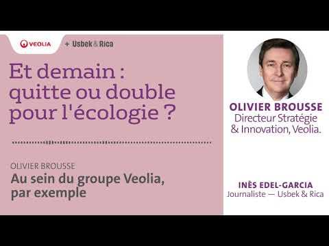 Veolia - Podcast d'Olivier Brousse, Directeur Stratégie et Innovation de Veolia