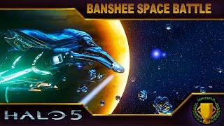 Halo 5 Custom Game : Banshee Space Battle