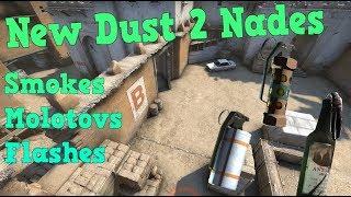 Скачать New Dust 2 Nades Smokes Molotovs Flashes