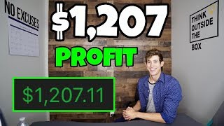 $1,207 Profit Day Trading In SALT LAKE CITY, UTAH