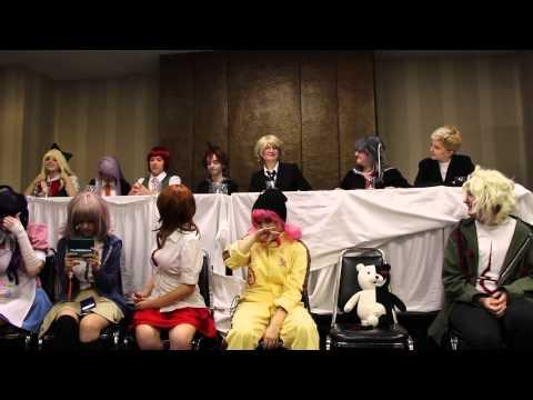 Anime Fusion 2013: Hope VS Despair: Jabberwock Island Edition Dangan Ronpa Panel