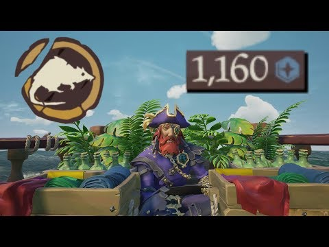 Sea of Thieves - MAXIMUM DOUBLOONS OBTAINED!