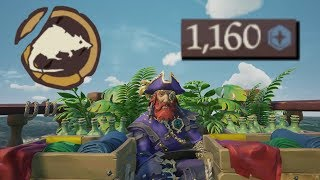Sea of Thieves - MAXIMUM DOUBLOONS OBTAINED! thumbnail