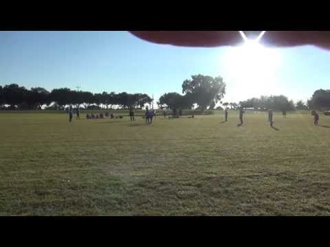 Game 7 U9 Fall 2014 vs MAITLAND FLORIDA KRUSH SKY BLUE First Half
