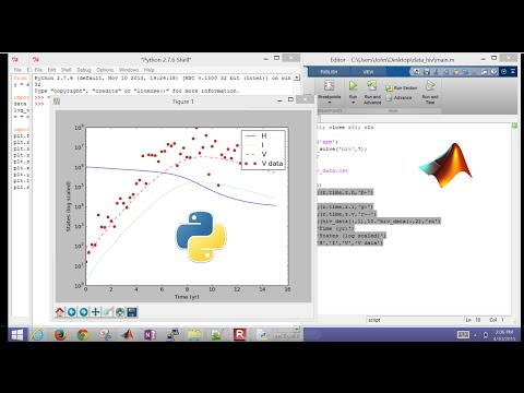 Nonlinear Dynamic Simulation in MATLAB and Python