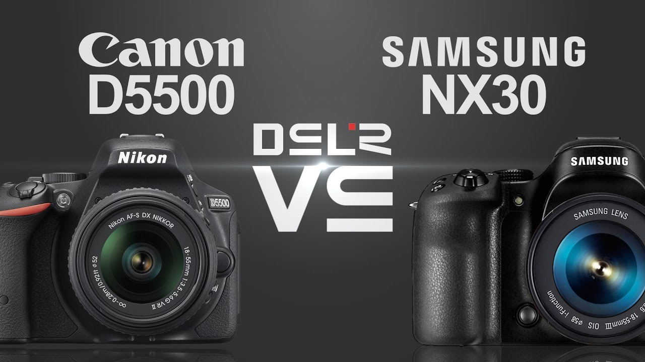 nikon eller canon systemkamera