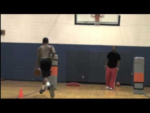 Jabari Evans of Brainerd High School Chatt. TN. Class 2012 workout session with Robbie Lawrence