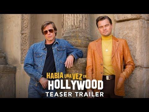HABÍA UNA VEZ... EN HOLLYWOOD   Teaser tráiler subtitulado (HD)