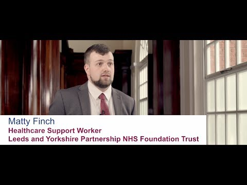 Matty Finch - Healthcare Support Worker, Leeds and Yorkshire Partnership NHS Foundation Trust