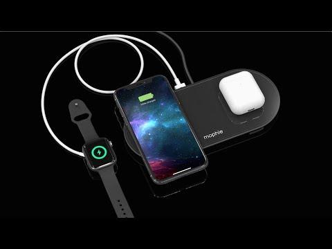 Mophie Wireless Charging Pad (Qi) Μαύρο (409903635)