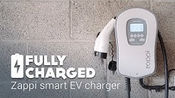 Zappi smart EV charger | Fully Charged