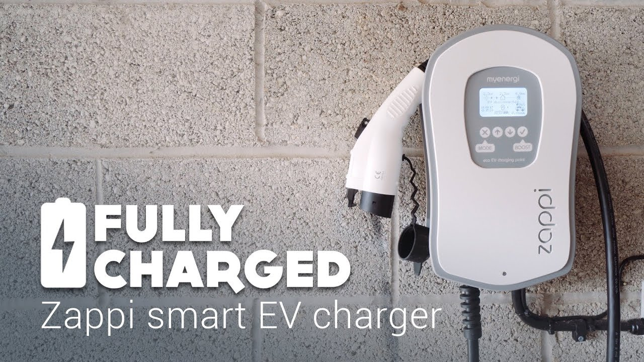 Zi Smart Ev Charger Fully Charged