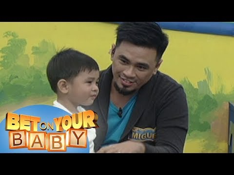 Bet On Your Baby: Baby Dome Challenge with Daddy Miguel and Baby Lazer