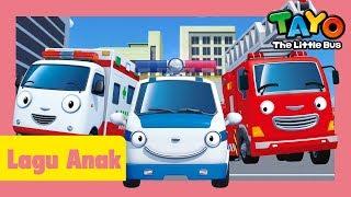 Tayo Lagu Pembukaan Tema Versi tim penyelamat l lagu untuk anak-anak l Tayo bus kecil