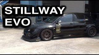 video thumbnail of Time Attack 700 Horsepower Stillway Mitsubishi Evo