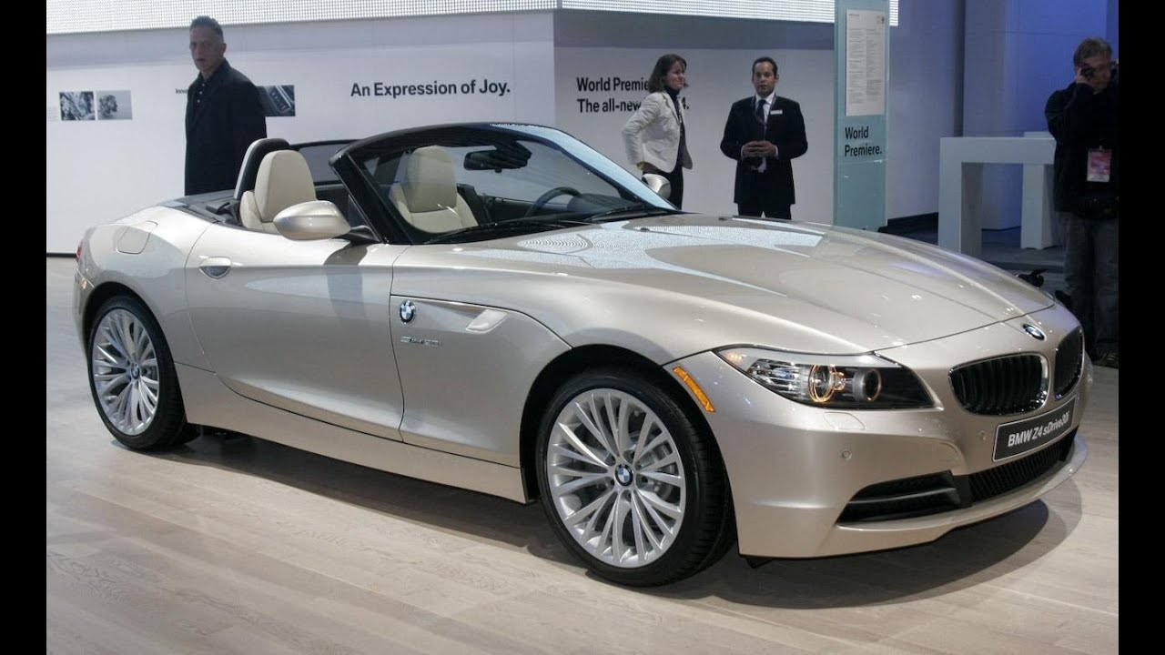 2009 bmw z4 roadster @ naias - car and driver - youtube