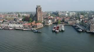Dordrecht Waterstad by Drone