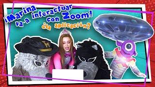 Marina va a interactuar con Zoom!!! .... ¿La aplicación? - Tiempo Mágico