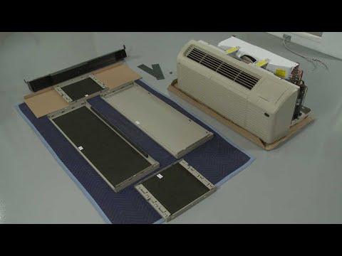 Gree PTAC Unit Installation (Model #ETAC209HP230VACP)