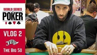 BIGGEST Live Poker Tournament EVER! | WSOP VLOG 2