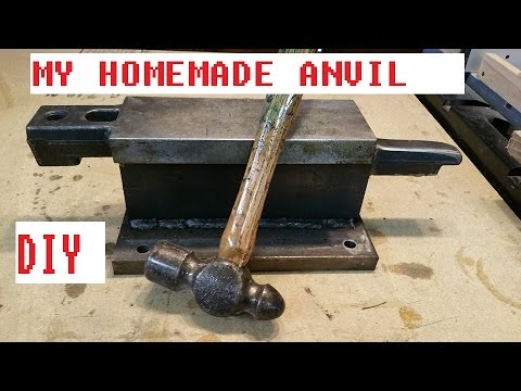 Homemade Anvil DIY Anvil for Blacksmithing